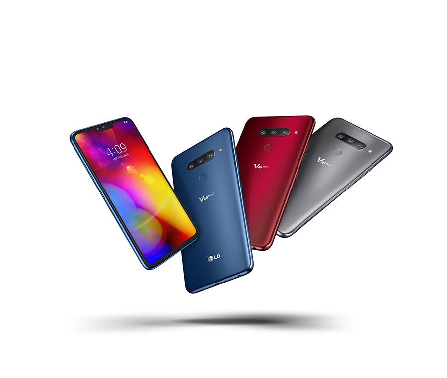 LG V40ThinQ in all colours