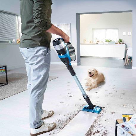 Philips SpeedPro Max Aqua vacuum cleaner with integrated mop
