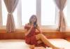 Natasha with the Fujifilm Instax LiPlay