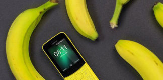 Nokia 8110 in banana yellow