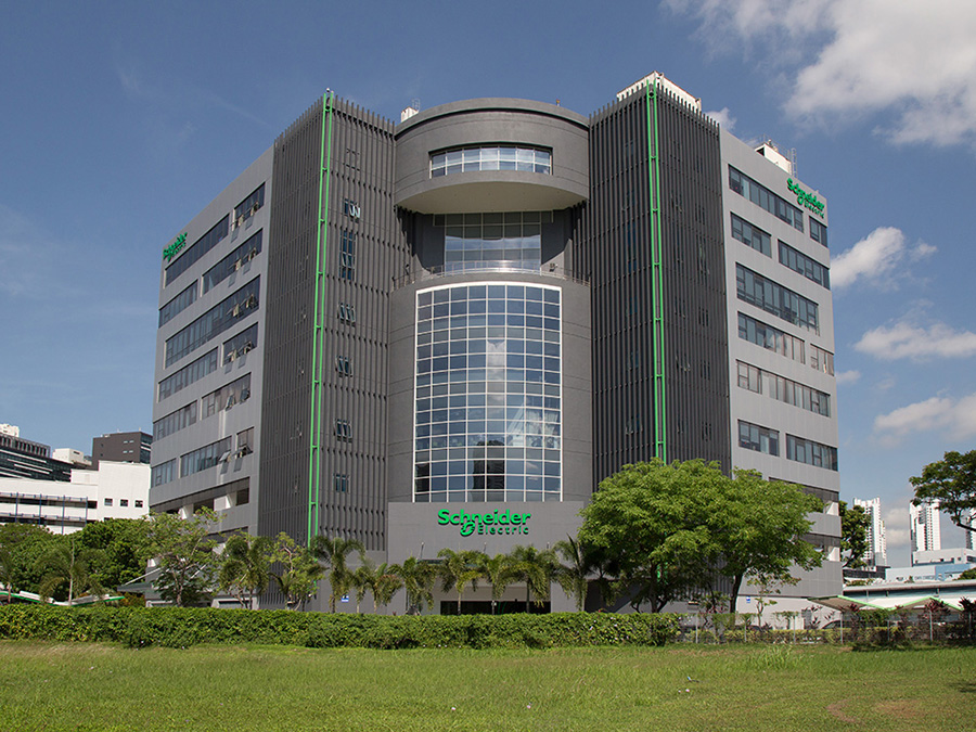 Schneider Electric's carbon neutral office building