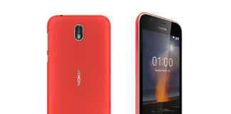 Nokia 1 Deep Red