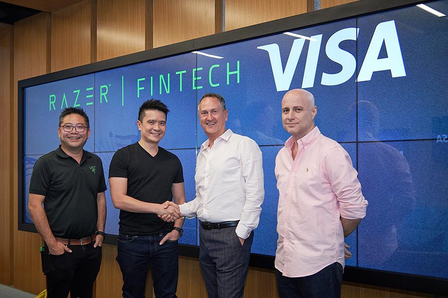 Razer and Visa announce partnership for Fintech