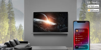 AirPlay2 on LG ThinQ AI TV