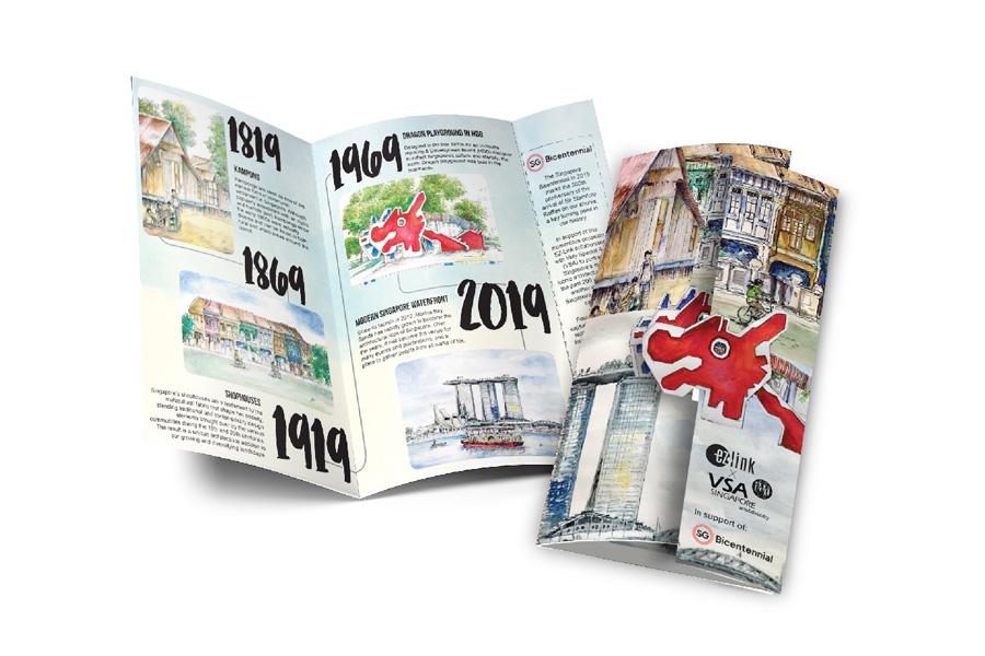 EZ Link Singapore Bicentennial Card Series
