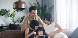 Family using Trend Micro Home Security Network