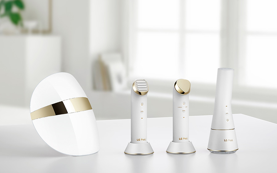 LG Pra.L with Dual Cleanser and Galvanic Ion Booster