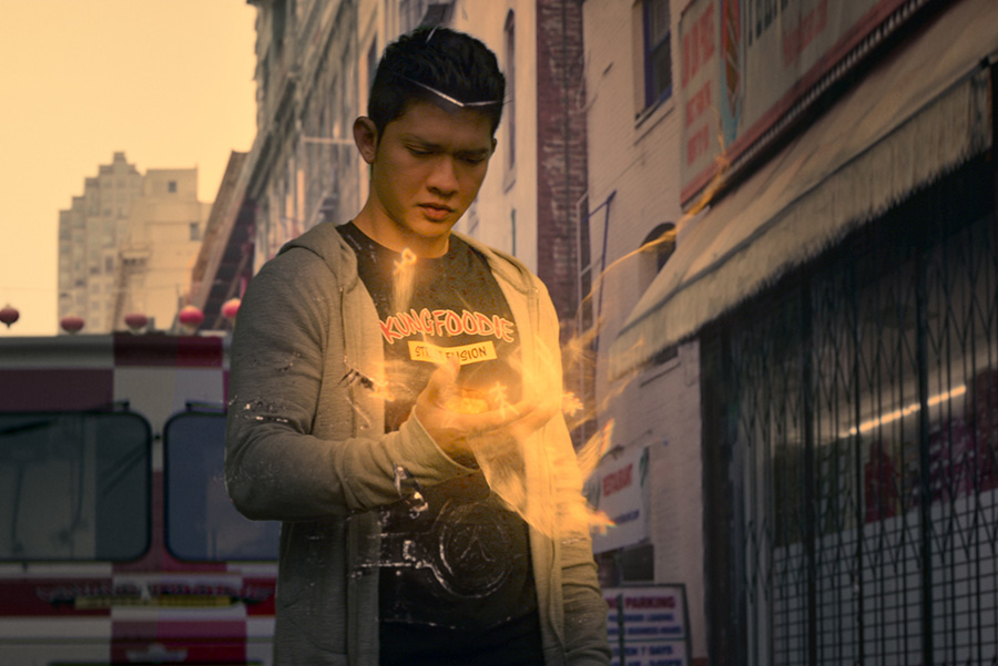 A still from Wu Assassins on Netflix