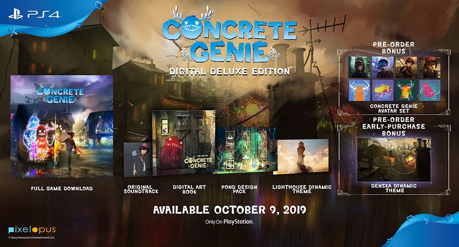 Concrete Genie's Digital Deluxe Edition