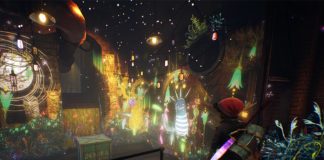 A screenshot from Concrete Genie
