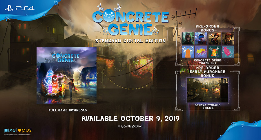 Concrete Genie's Standard Digital Edition