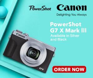 Canon Powershot G7 ad