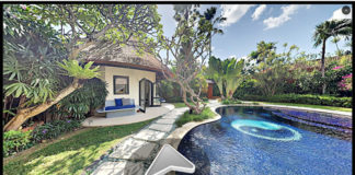 Homeaway Virtual Tours in Bali view