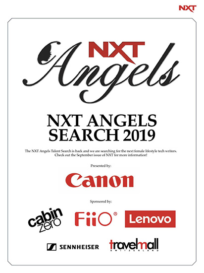 NXT August 2019 Issue Angels ad