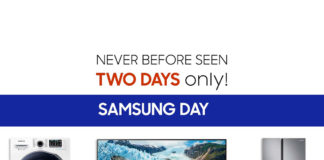 Samsung Day promotional ad