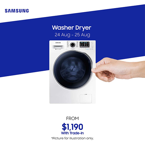 Samsung Day Washer Dryer trade-in