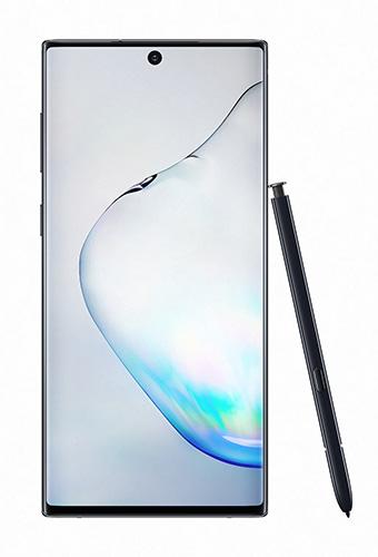 Samsung Galaxy Note10 in Aura Black