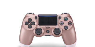 Limited Edition DUALSHOCK 4 Wireless Controllers in Rose Gold