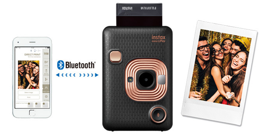 Fujifilm Instax LiPlay review feature