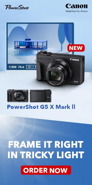 Canon G5X Mark II ad