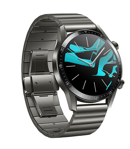 HUAWEI GT2 smartwatch in titanium grey