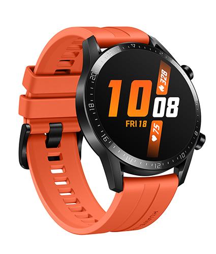 HUAWEI GT2 smartwatch sports edition in sunset orange