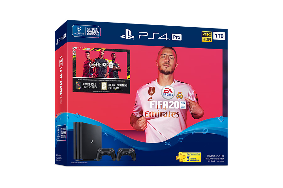 FIFA 20 Bundle Pack for the PS4 Pro