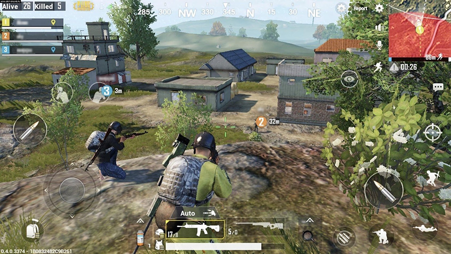 Screenshot from PUBG Mobile