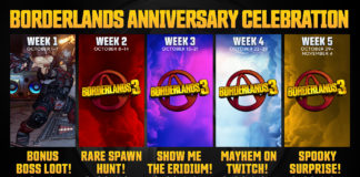 Borderlands Anniversary Celebration