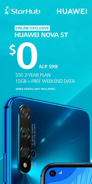 Huawei Nova 5t Ad
