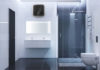 The Ariston Andris2 Top in a bathroom