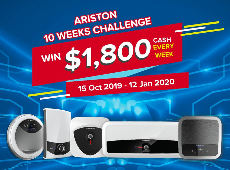 Ariston Water Heaters Giveaway
