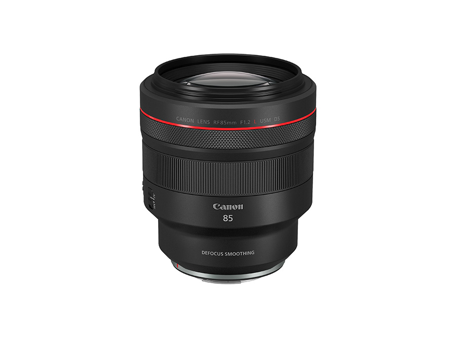 Canon RF85mm f/1.2L USM DS lens
