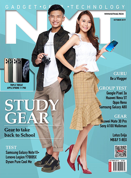 Cover of NXT October 2019 Issue
