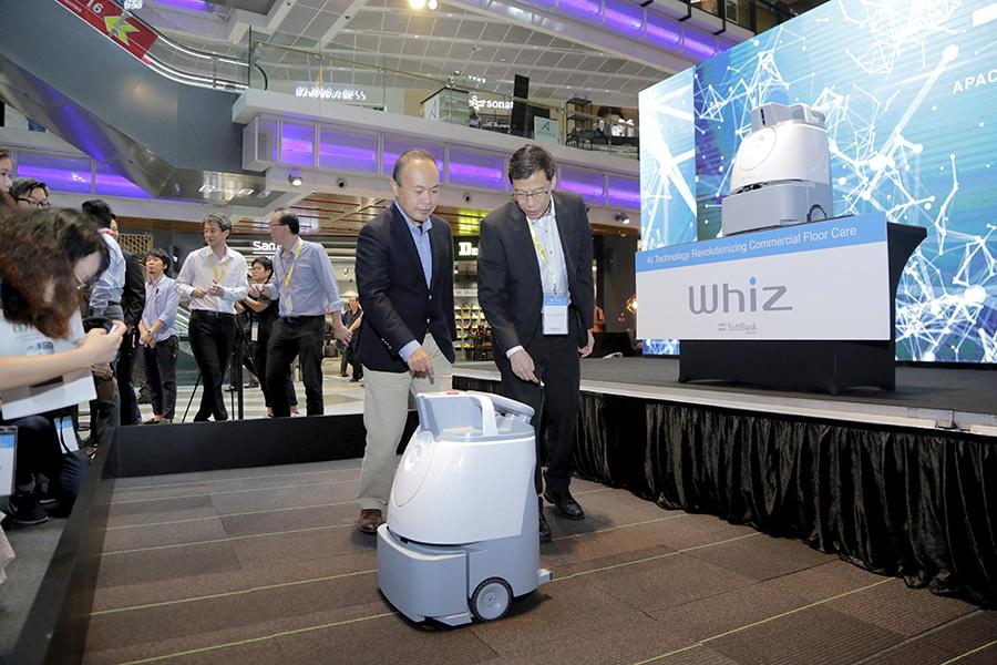 Whiz by Softbank Robotics