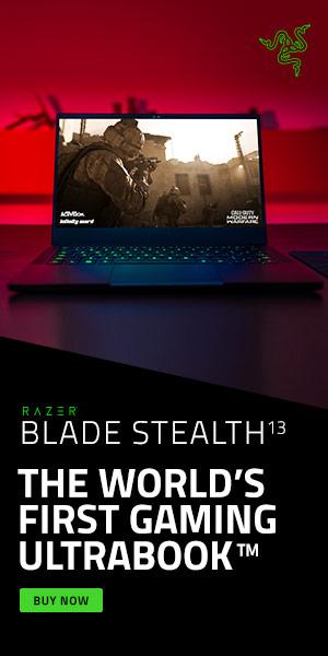 Razr Blade Stealth ad