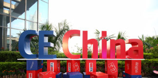 CE China 2019 sign