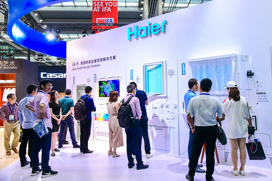 CE China 2019 Haier booth