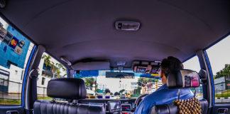 Inside of a Comfort Delgro cab
