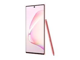 Samsung Galaxy Note10 in Aura Pink