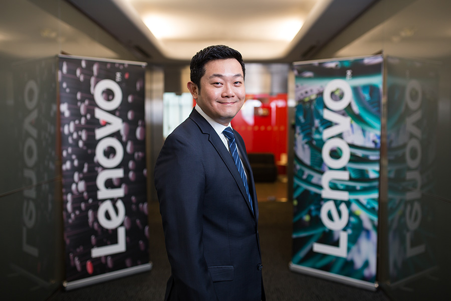 Eddie Ang, General Manager Lenovo Singapore