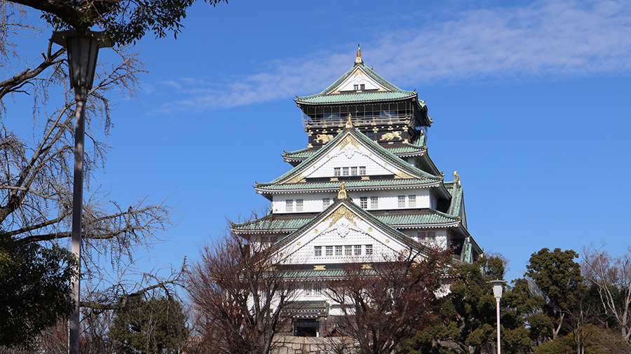 Photo of Osaka Castle taken on the Canon M200, by NXT Angel Han Yun