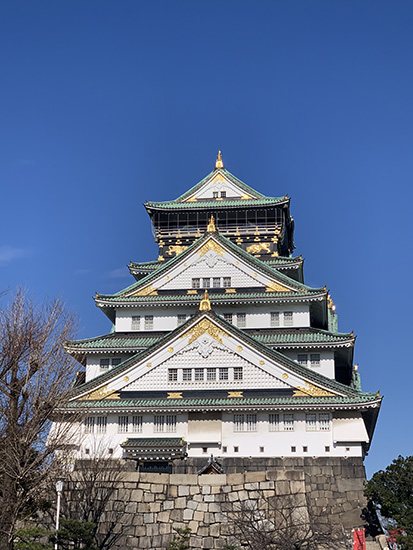 Photo of Osaka Castle taken on the iPhone XS MAX, by NXT Angel Han Yun