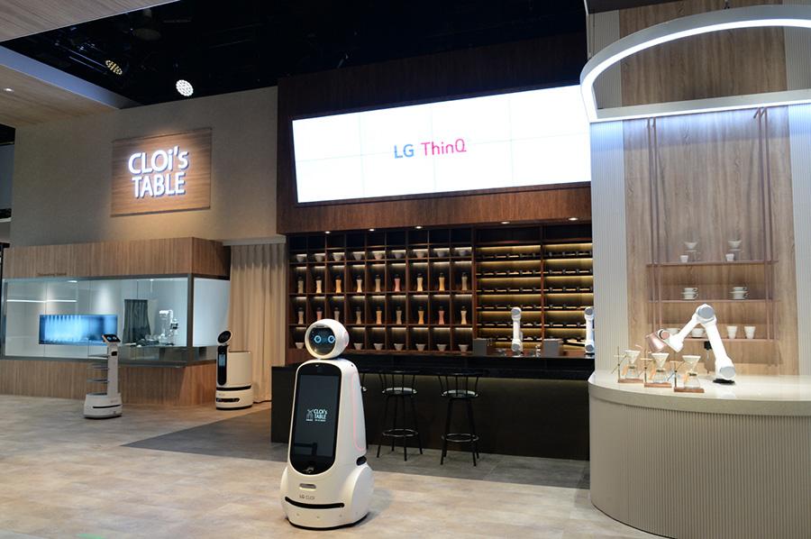 LG CLOi at CES 2020 AI