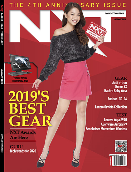 NXT January 2020 issue cover with Vanessa