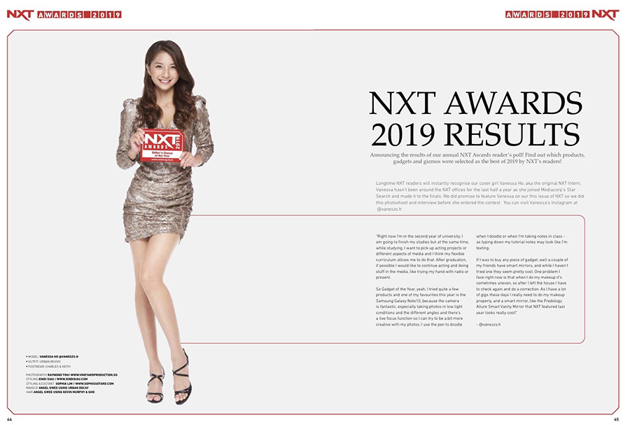 NXT January 2020 issue Feature page