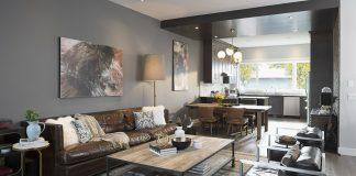 Interior of a condominium