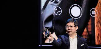 Richard Yu in Barcelona Huawei Launch