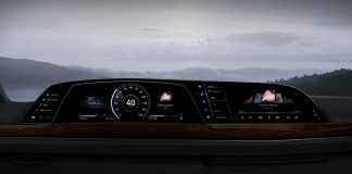 LG P-OLED Cockpit in new Cadillac Escalade