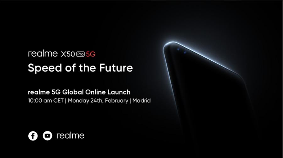 realme X50 Pro 5G Launch ad